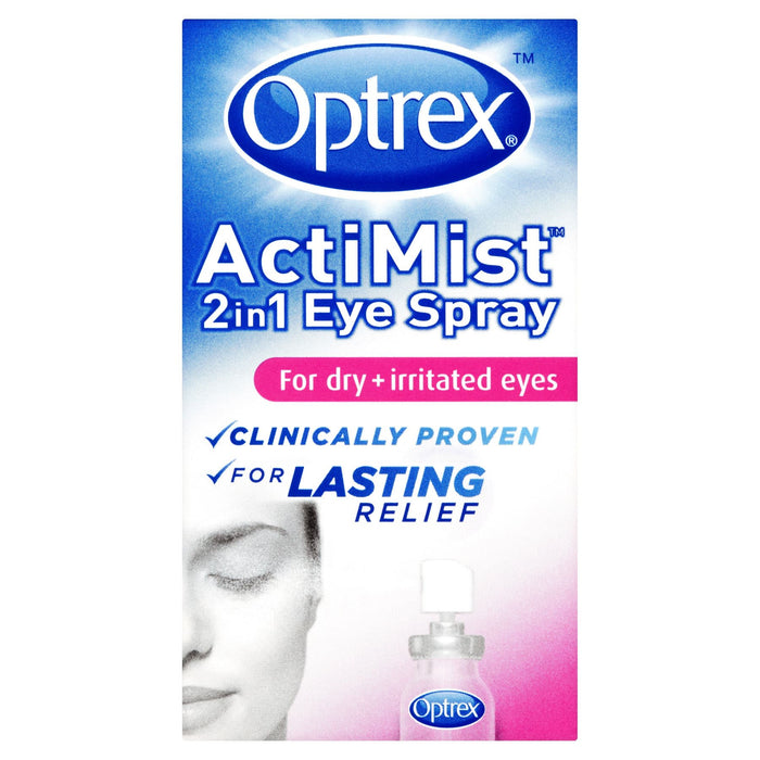 Optrex ActiMist 2 in 1 Dry + Irritated Eye Spray 10ml
