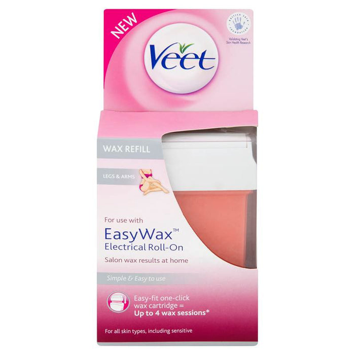 Veet EasyWax Electrical Roll On Wax Refill Legs & Arms 50ml