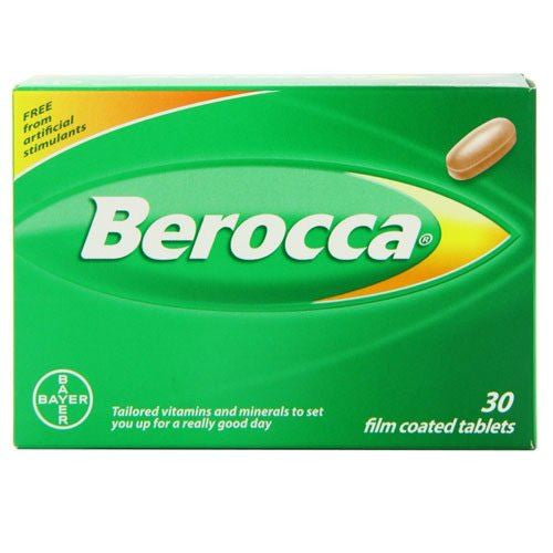 Berocca Film Coated Tablets 30 Tablets