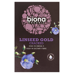 Biona Organic Linseed Gold Cracked 500g