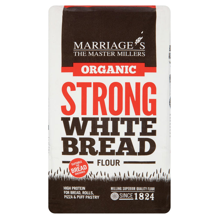 Marriage's The Master Millers Organic Strong White Bread Flour 1kg