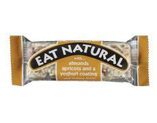 Eat Natural Fruit & Nut Bar Almond & Apricot with a Yogurt Coating 50g