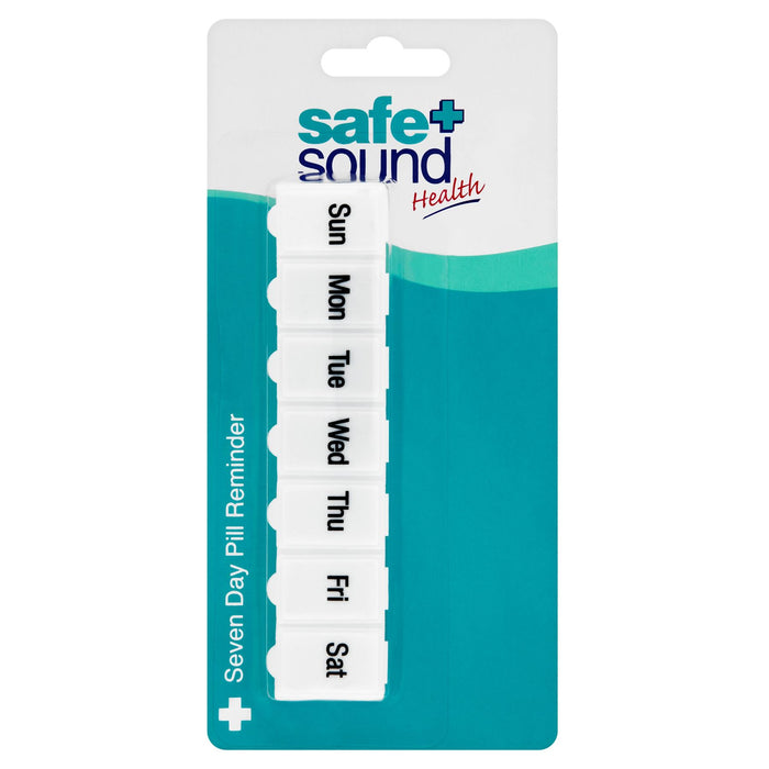 Safe + Sound Health Seven Day Pill Reminder