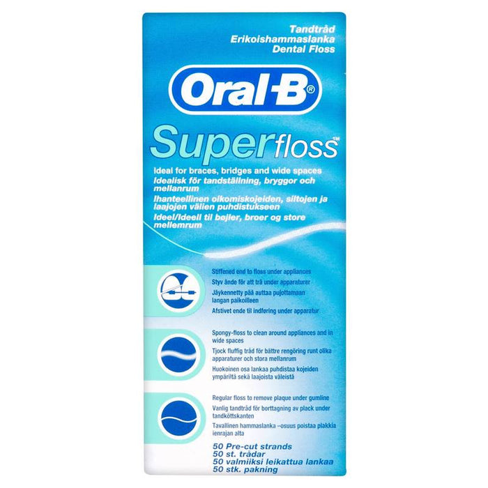 Oral-B® Super Floss™