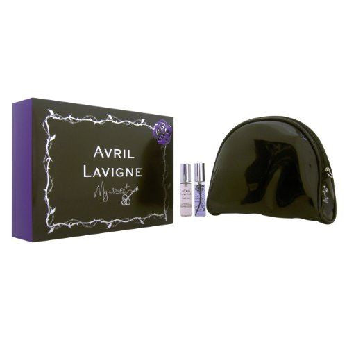 Avril Lavigne My Secret Gift Set Black Star 10ml EDP + Forbidden Rose 10ml EDP