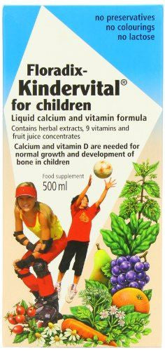 Floradix Kindervital Formula For Childr 500 ML