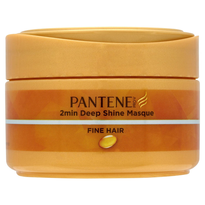 Pantene Pro-V 2min Deep Shine Masque Fine Hair 200ml