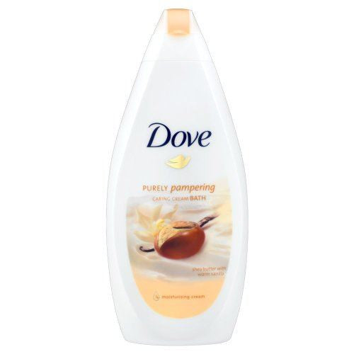 Dove Purely Pampering Shea Butter Caring Cream Bath 500ml