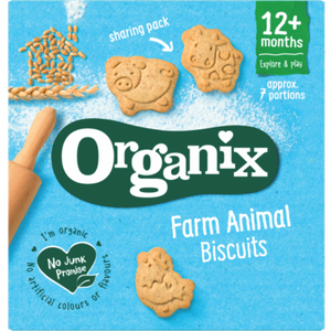 Organix Farm Animal Biscuits 12 Months+ 100g