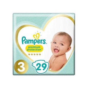 Pampers New Baby Nappies Size 3 29 pack