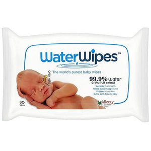 WaterWipes Baby Wipes Chemical-Free Sensitive (60 wipes)