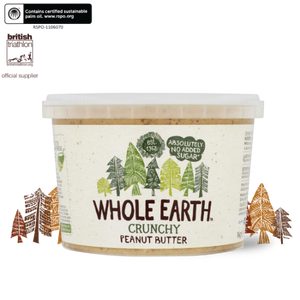Whole Earth Crunchy Peanut Butter 1kg