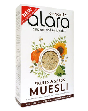 Alara Organic Fruits & Seeds Muesli 650g