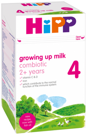 Hipp Growing Up Baby Milk Formula 4 From 2 Years Onwards 600g