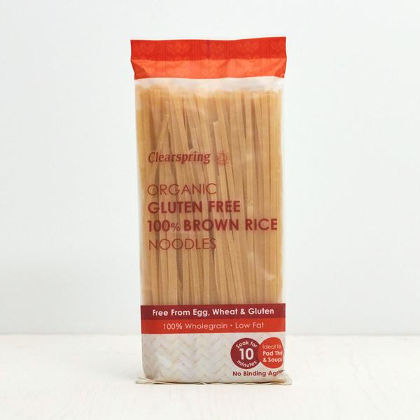Clearspring Organic Gluten Free Brown Rice Noodles 200g