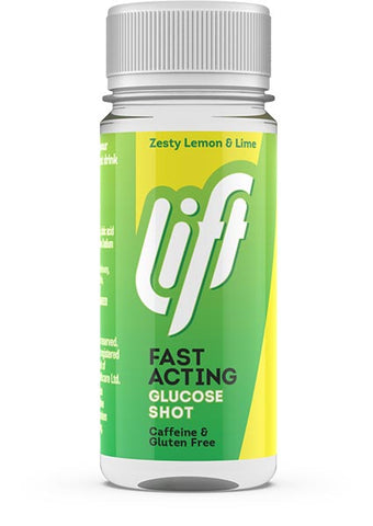 Lift Fast Acting Glucose Shot Lemon & Lime Flavour 60ml | Previously Glucojuice
