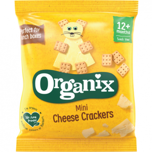 Organix Mini Cheese Crackers 12 Months+ 20g