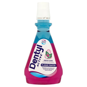 Dentyl Active Dual Action Alcohol Free Fresh Clove Mouthwash 500ml
