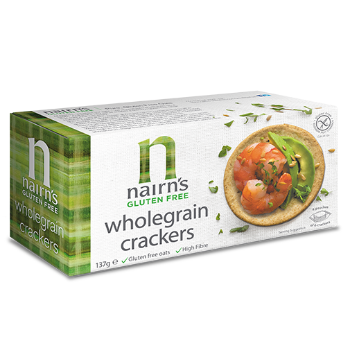 Nairn's Gluten Free Wholegrain Crackers 114g