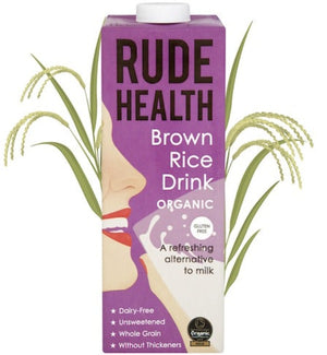 Rude Health Organic Brown Rice Drink 1L