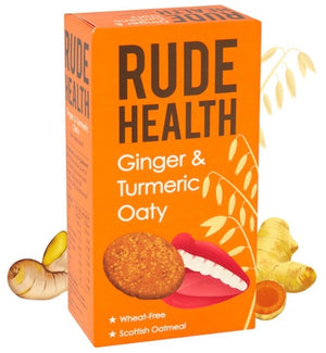 Rude Health Ginger & Turmeric Oaty Biscuits 200g