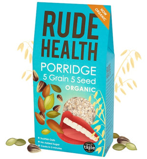 Rude Health Organic 5 Grain 5 Seed Porridge 500g