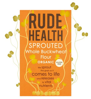 Rude Health Organic Sprouted Whole Buckwheat Flour 500g