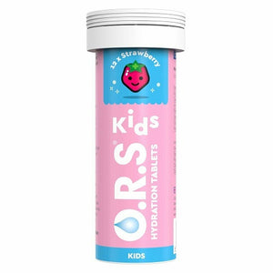 O.R.S Kids Hydration 12 Tablets | Strawberry Flavour