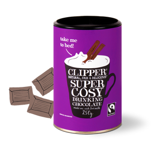 Clipper Super Cosy Drinking Chocolate 250g