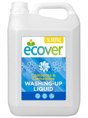 Ecover Washing-Up Liquid Camomile & Clementine Refill | 5 Litres