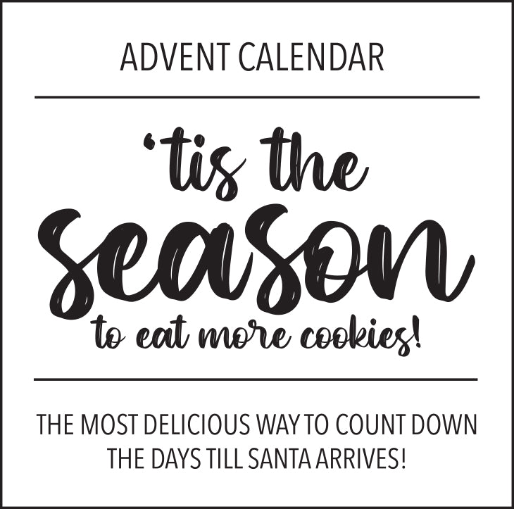 Little Biskut Advent Calendar Label