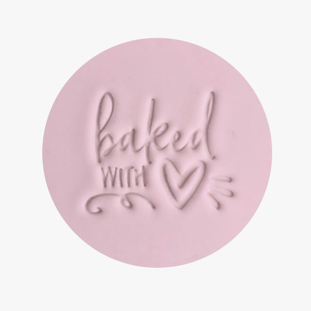 Stamp - Baked with Love