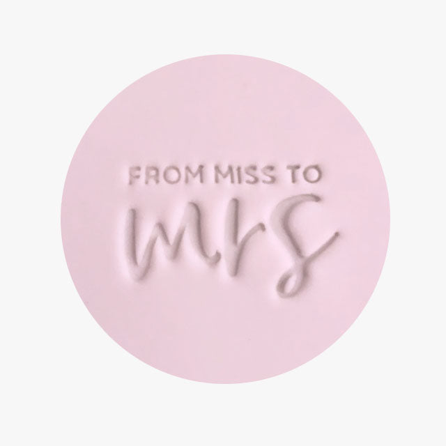 Stamp - Miss to Mrs
