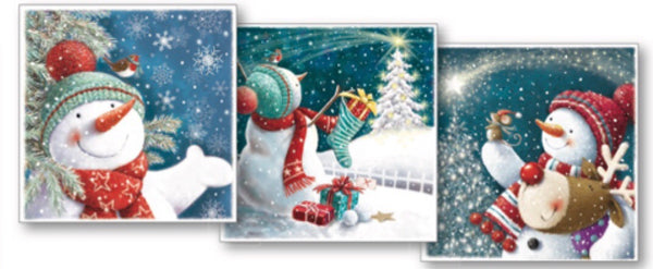 Snowman Triple Pack (15 Cards)