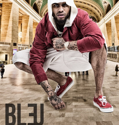 Dave East American rapper 689K for the Cover of BLEU Magazine