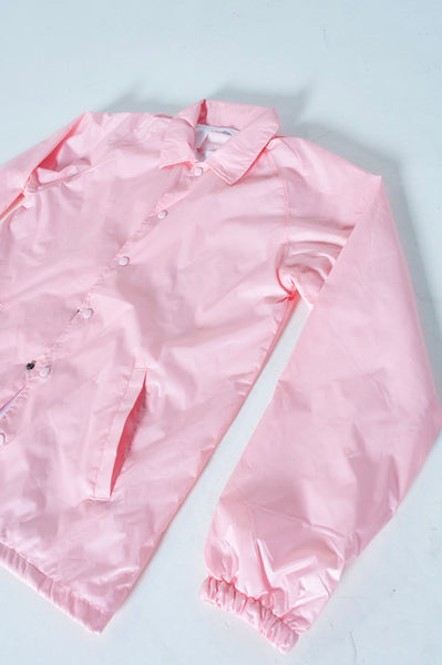 Soft pink harrington jacket