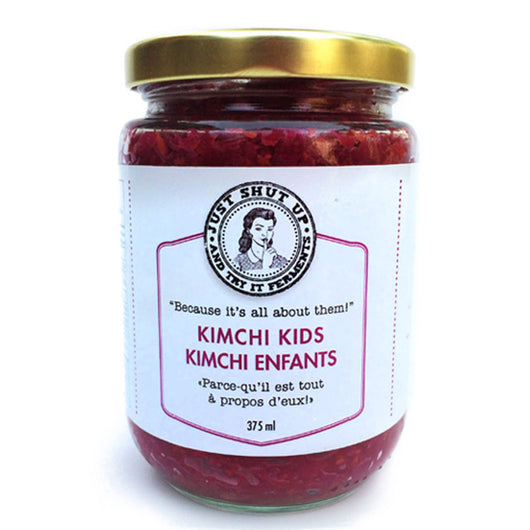Just Shut Up and Try It - Kimchi Kids