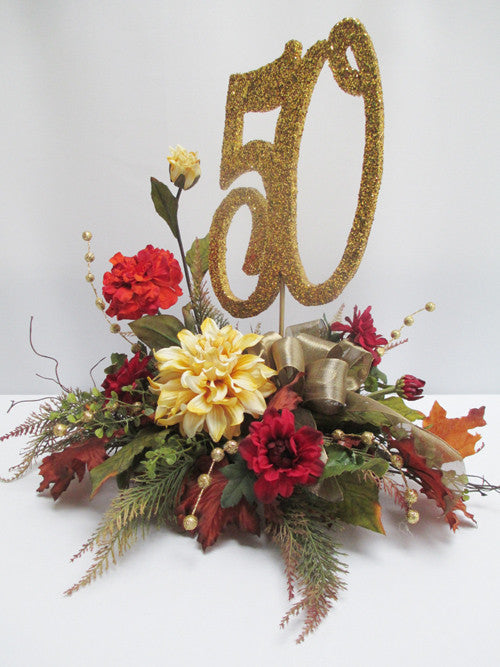 50th Anniversary Fall Centerpiece