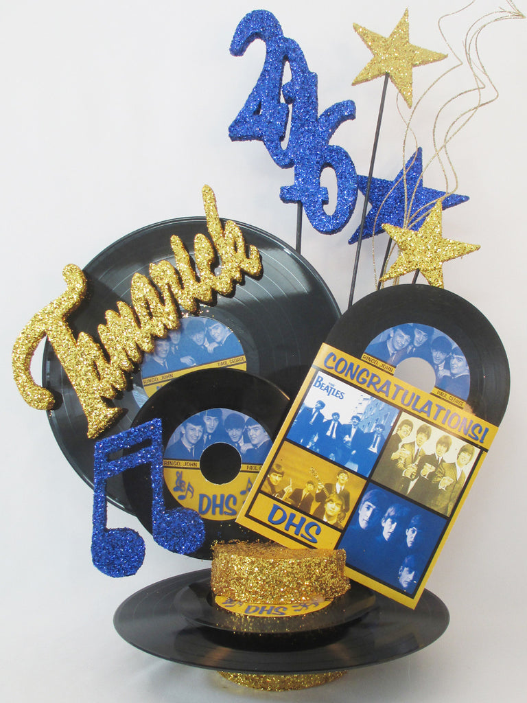 Beatles Graduation Centerpiece