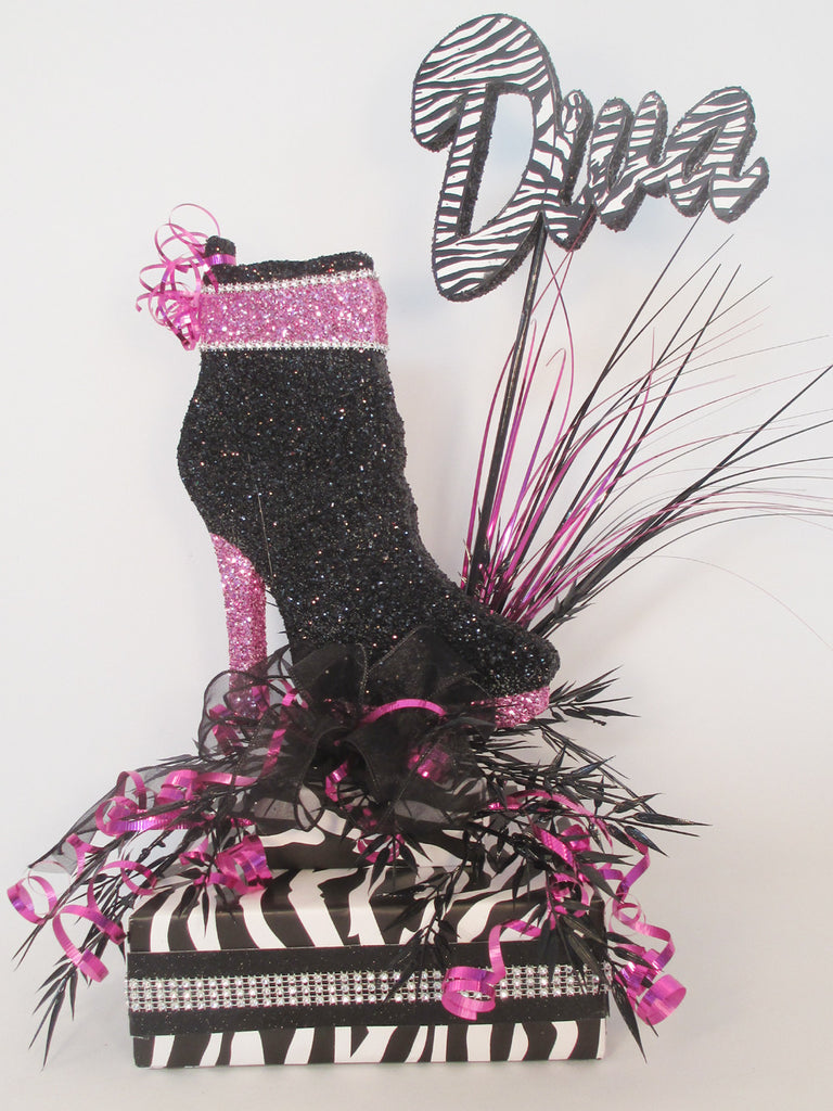 High Heel Shoe Centerpieces