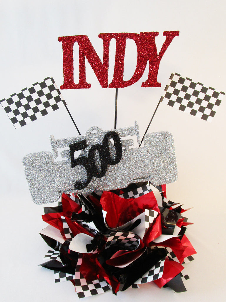 Indy 500 Race Car Table Centerpiece