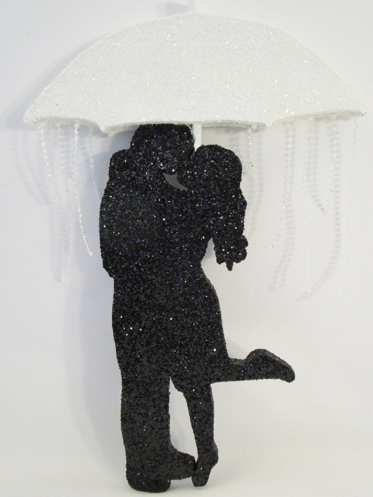 Bridal Shower Couple Under Umbrella