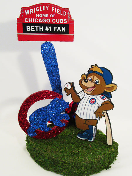 Chicago Cubs Centerpiece