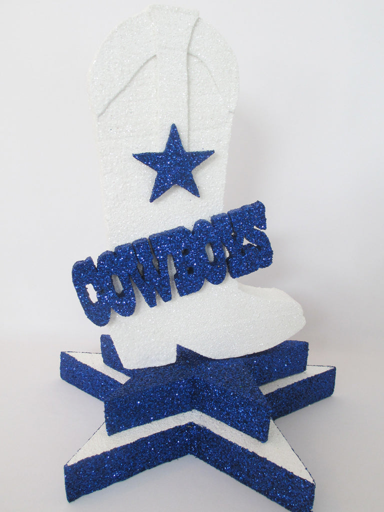 Cowboys themed centerpieces