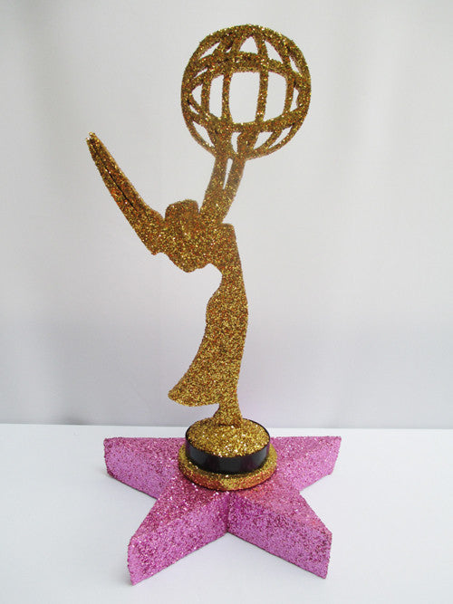 Golden Emmy on Star Centerpiece