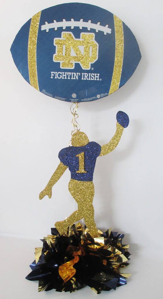 Fighting Irish Football Centerpieces