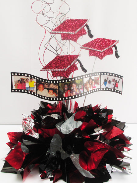 Graduation Filmstrips Centerpiece