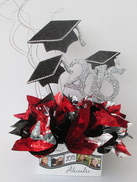 Graduation Silhouette Cutouts and Centerpieces