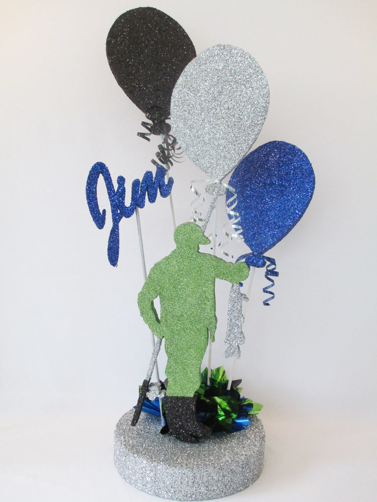 Fisherman Birthday Centerpiece