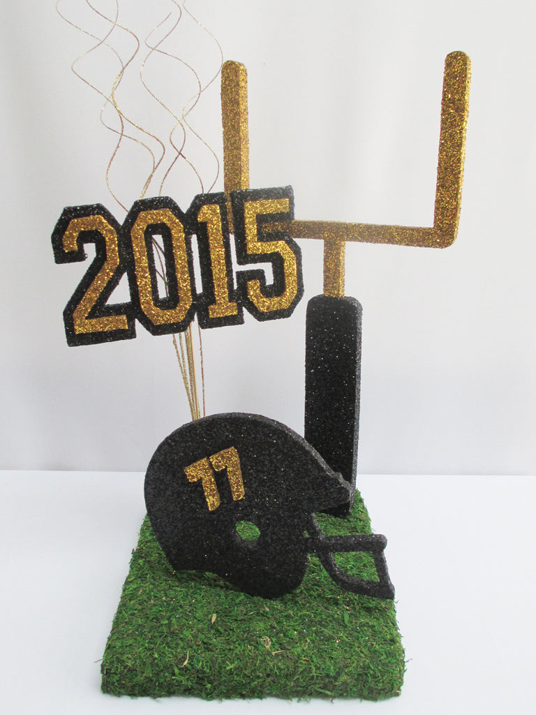 Football themed centerpiece